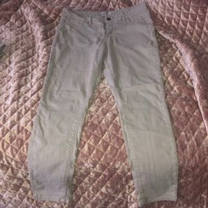 Khaki jeans from Charlotte Russe